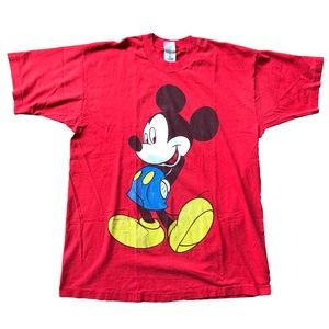 Vintage Single Stitch Mickey Mouse Big Logo Shirt